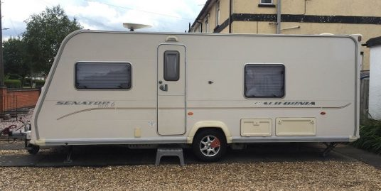 2009 BAILEY SENATOR SERIES 6 CALIFORNIA LUXURY FIXED BED 4 BERTH YEAR