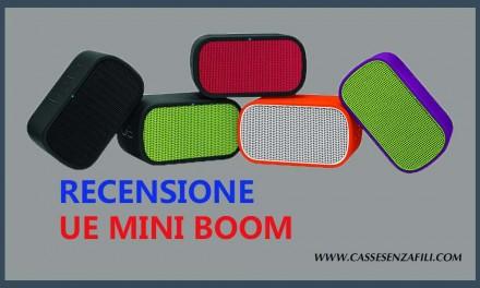 Ue Mini Boom – Recensione Ue Mini Boom migliore Mini Cassa Bluetooth