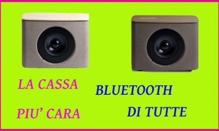 Paco, la cassa Bluetooth più costosa di tutte? –  Cassesenzafili.com