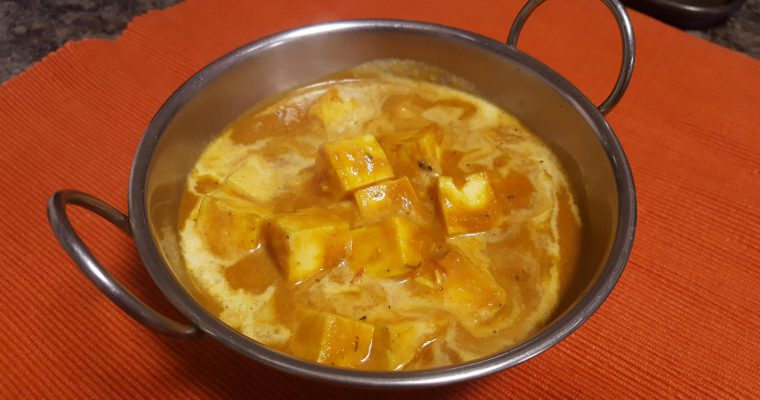 Restaurant Style Delicious Paneer Butter Masala