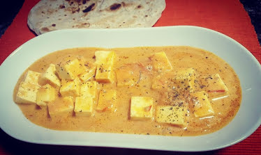 Malai Paneer Recipe | Indian Cheese in Tomato & Cream Gravy