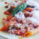 Italian Pasta with Aubergine & Salty Ricotta | Pasta alla Norma