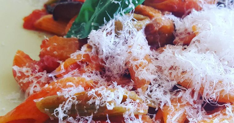 Pasta alla Norma | Aubergine & Salty Ricotta Pasta