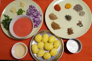 Dum Aloo Recipe Ingredients