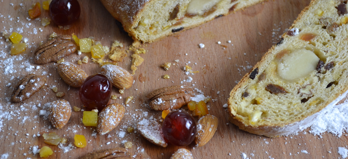 Stollen Recipe | German Dried Fruit & Nuts Bread