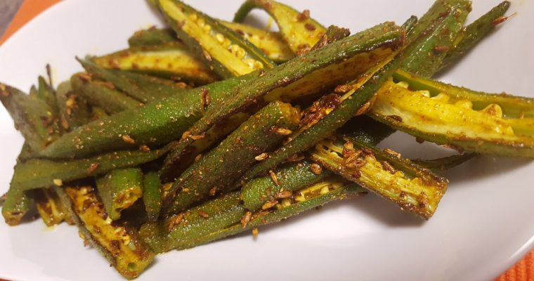 Lightly Spiced Bhindi Ki Sabzi Recipe | Indian Spiced Okra