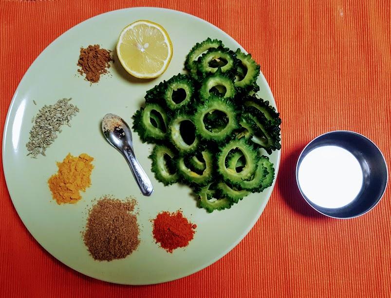 Karela Ki Sabzi Recipe with Step by Step Photo