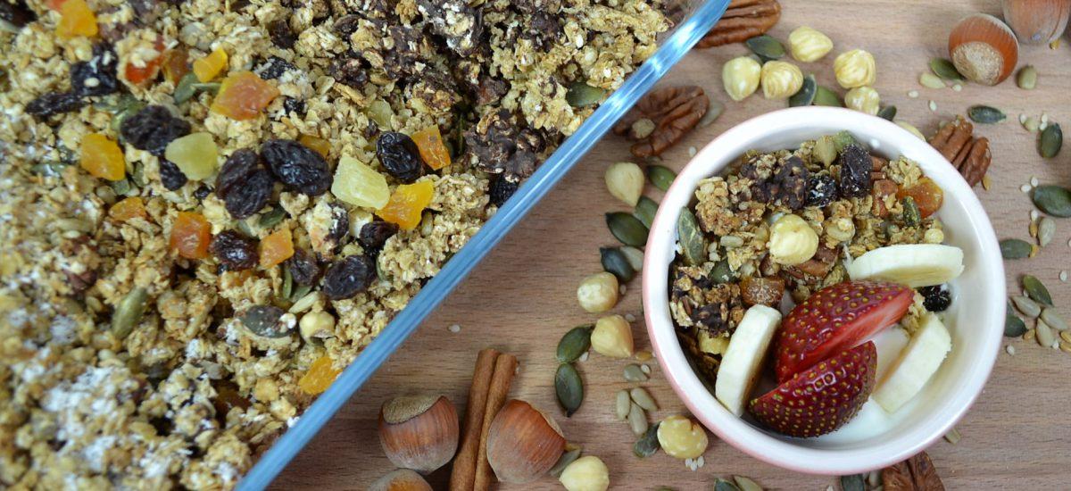 Pecan and Hazelnut Granola Recipe