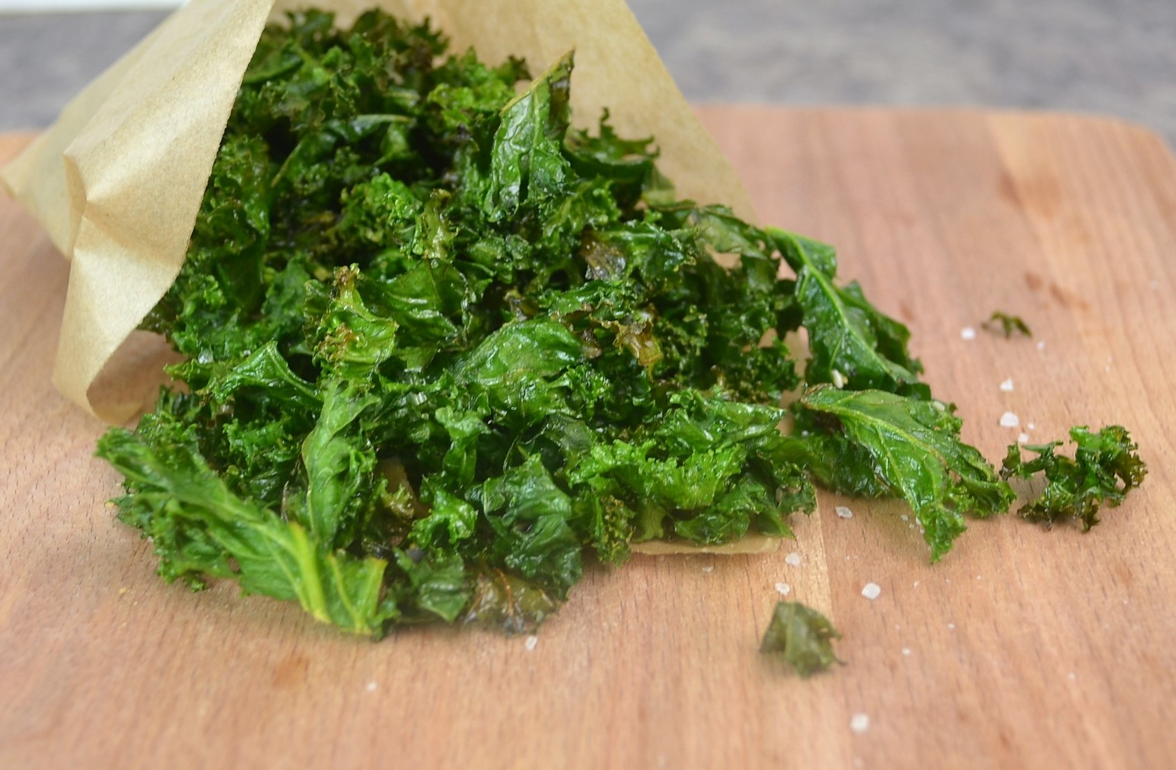 Kale Crisps Recipe | How to make kale crisps dontask4salt Vegetarian Snacks