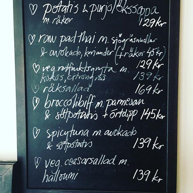 Lilla Ekot Menu | Vegetarian Food in Stockholm