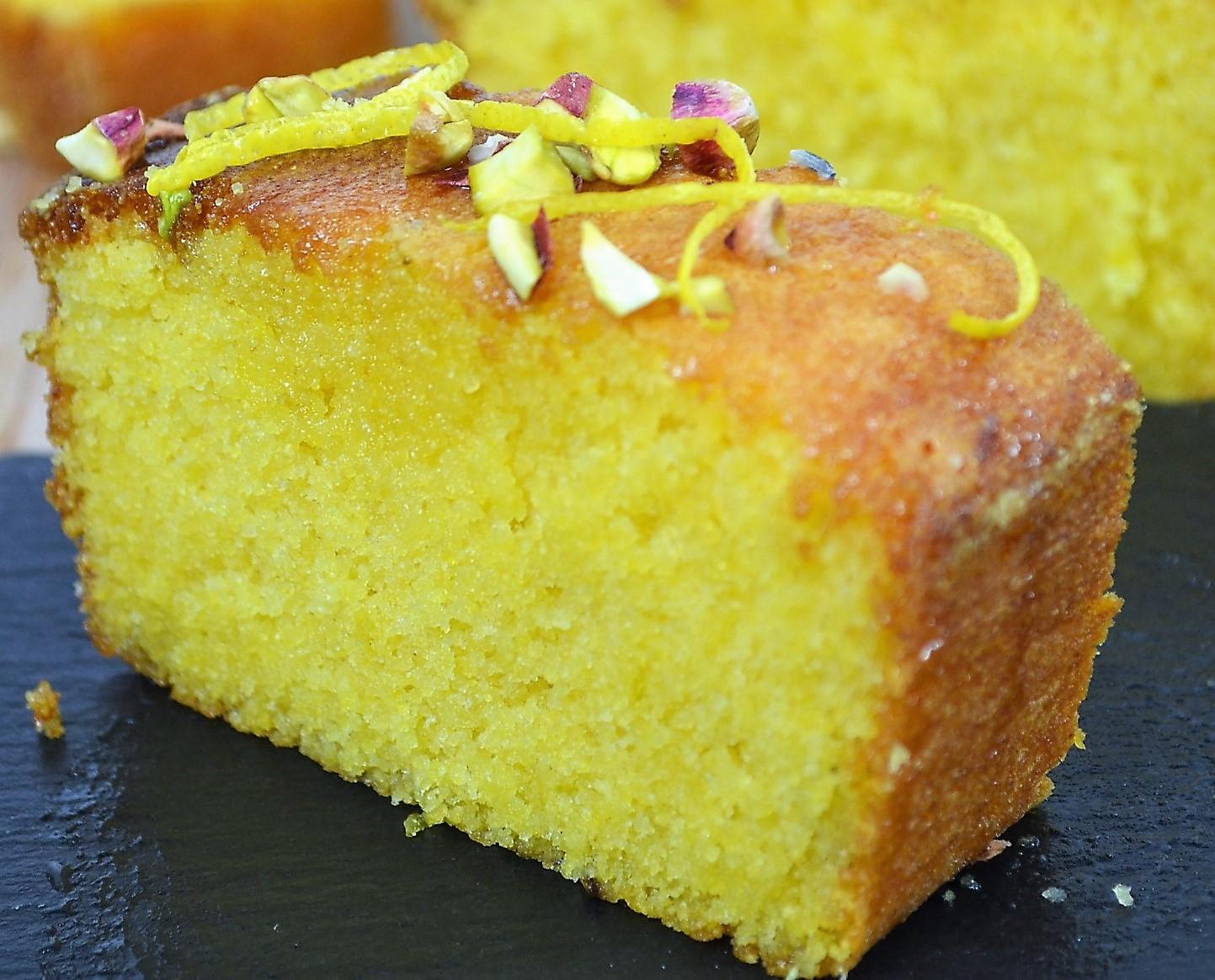 Lemon Lavender Polenta Cake dontask4salt