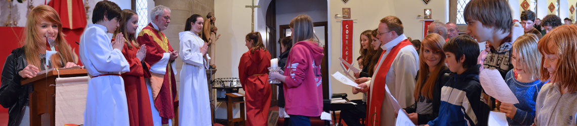 Dunkeld Youth Service - Diocesan Mass in the Holy Family Church, Dunblane