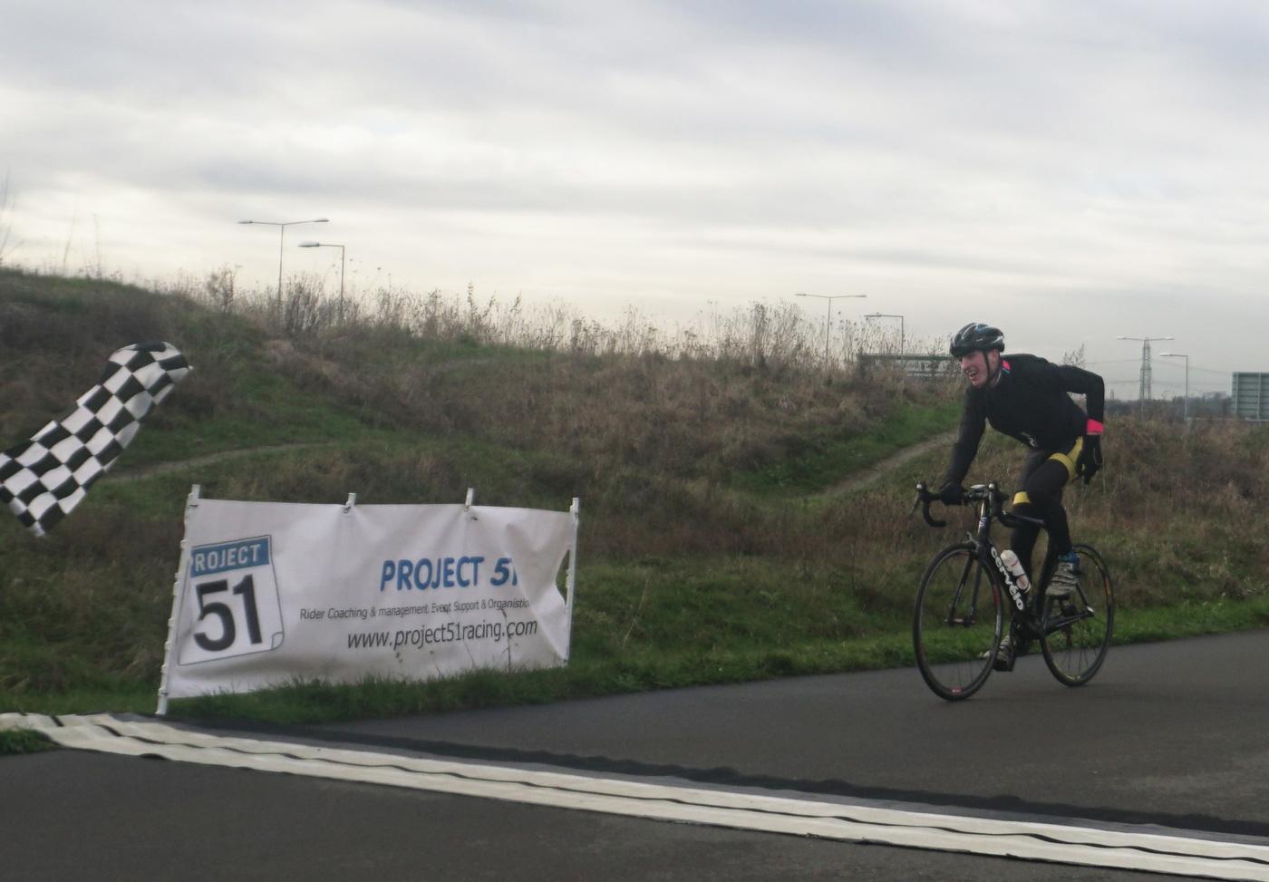 Cyclopark  5 3 4 winner