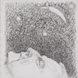 Jane Mcadam Freud: Drawing 2 (2011), Pencil on paper, 22.5 x 22.5 cm