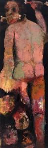 Bones Oil on canvas, 150 x 50 cm, 2012