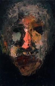 Niyaz Najafov, Portrait (II), Oil on canvas, 27 cm x 41.5 cm