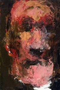 Niyaz Najafov, Portrait (IV), Oil on canvas, 24 cm x 35.5 cm