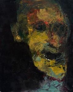 Niyaz Najafov, Portrait (VII), Oil on canvas, 33 cm x 41 cm