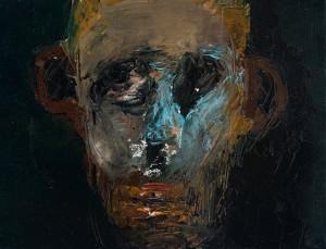 Niyaz Najafov, Portrait (V), Oil on canvas, 35 cm x 27 cm
