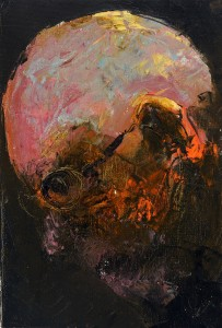 Portrait Oil on canvas, 35.5 x 27 cm x 2012