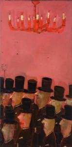 Les Mouches Oil on canvas, 195 x 96 cm, 2012