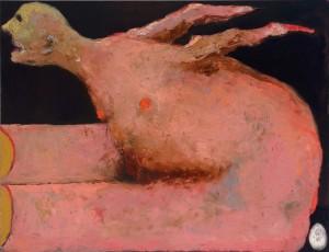 Chicken (Eggs) Oil on canvas, 90 x 116 cm, 2012