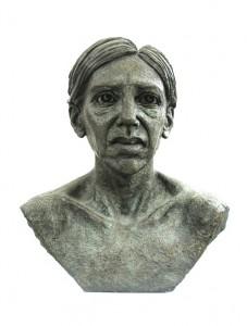 Jane Mcadam Freud: Annabel (1995), Bronze, 53 x 44 x 45 cm