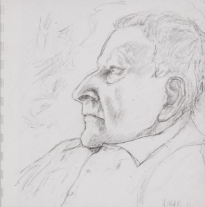 Jane Mcadam Freud: Drawing 5 (2011), Pencil on paper, 22.5 x 22.5 cm