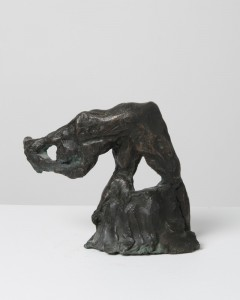 Jane Mcadam Freud: After Bacon plus Natural Forces (1993/95), Bronze, 17 x 16 cm