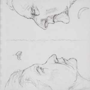 Jane Mcadam Freud: Drawing 4 (2011), Pencil on paper, 22.5 x 22.5 cm