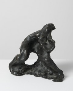 Jane Mcadam Freud: After Bacon plus Natural Forces (1993/95), Bronze, 18 x 17 cm