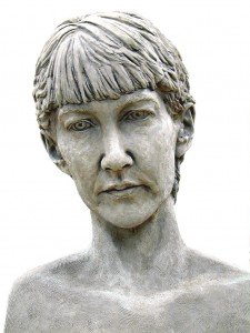 Jane Mcadam Freud: Self Portrait (1998/99), Bronze, 39 x 30 x 24 cm