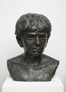 Jane Mcadam Freud: David (1992), Bronze, 37 x 30 x 18 cm