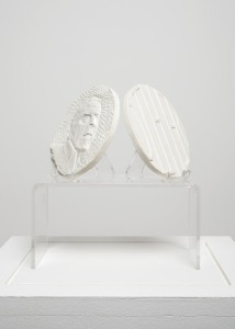 Jane Mcadam Freud: Medal (2012), Plaster, 110 mm