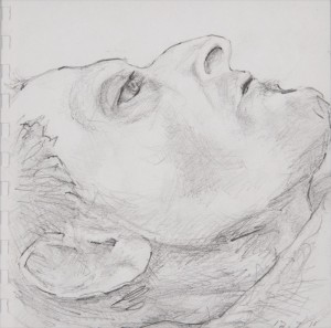 Jane Mcadam Freud: Drawing 1 (2011), Pencil on paper, 22.5 x 22.5 cm