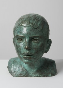 Jane Mcadam Freud: Chris (2011), Bronze 20 x 18 x 18 cm