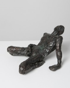 Jane Mcadam Freud: After Bacon plus Natural Forces (1993/95), Bronze, 22 x 12 cm