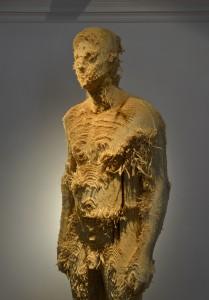 Aron Demetz, Proposta KR 150 (detail), 2013, Limewood, 75 cm x 60 cm x 235 cm