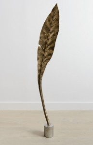 Shan Hur, Tree #4 (Pacho), 2013, Bronze, stainless steel base, 25 cm x 67 cm x 30 cm