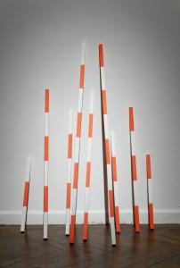 Kate Terry: Orange Broken Lines