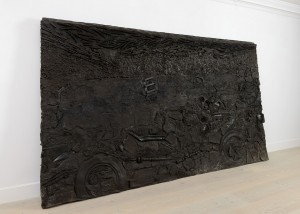 Recycle Group, Cultural Layer: Skeleton, 2012, Cast polyurethane, 200x370x20 cm