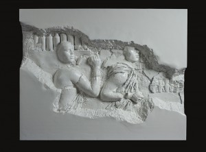 Recycle Group, Archaeology 2512 III, 2012, Cast plastic, 122x155x26 cm