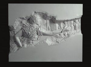 Recycle Group, Archaeology 2512 I, 2012, Cast plastic, 122x155x26 cm