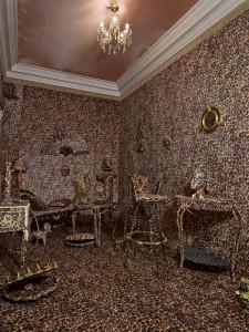 Elena Rendina, Leopard Print Installation, Site Specific
