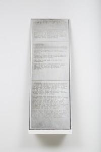 Alinka Echeverría, IXIPTLA, 2014, archival pigment print mounted on aluminium, 59 x 21 cm