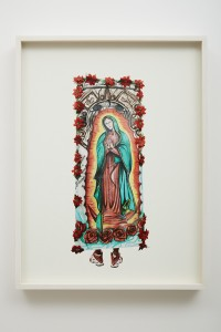 Alinka Echeverría, The Road to Tepeyac #104, 2010, archival pigment print - hahnemuhle fine art paper print, mounted on aluminium in hand stained tulip frame, 45 x 60 cm