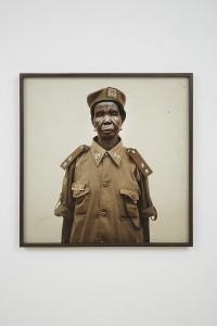 Alinka Echeverría, Chief. Becoming South Sudan Chapter I, 2011, c type print on archival photographic paper mounted on archival museum board in hand stained hardwood frame, 78 x 78 cm