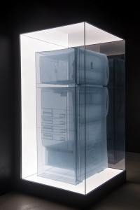 Do Ho Suh,Specimen Series- 348 West 22nd Street, APT. New York, NY 10011, USA - Refrigerator (LMGHK 2013 Inst) 02 hr