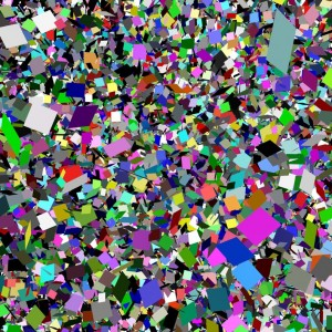 Nightmare for Malevich 36000 Digital Print, 152.5 x 152 cm, 2012