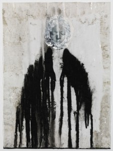 Veiled Shadow XVIII 2011 Mixed media on paper 16 1/2 x 11 3/4 in. (42 x 30 cm) Courtesy of the Artist and Richard Gray Gallery